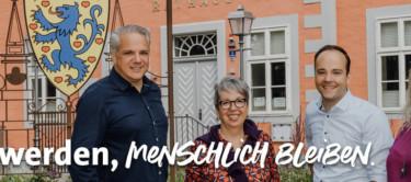 Unsere TOP 4: Olav Mangels, Patricia Schömburg, Maximilian Schmidt, Ina Boy.