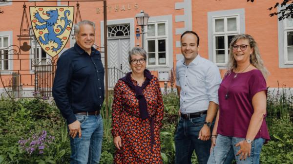 Olav Mangels, Patricia Schömburg, Maximilian Schmidt und Ina Boy